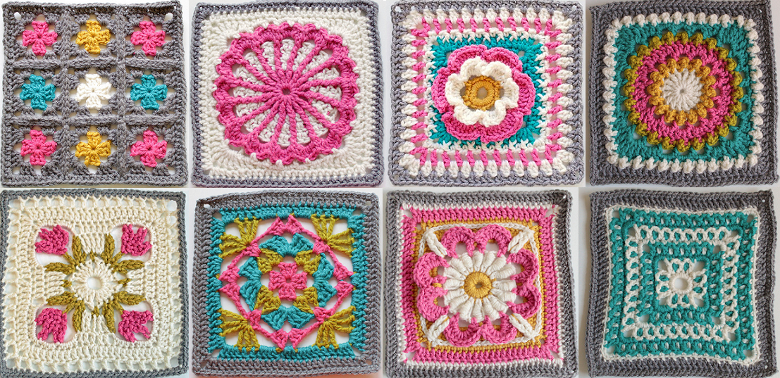 Im Obsessed With Granny Squares Lets Get Galactic