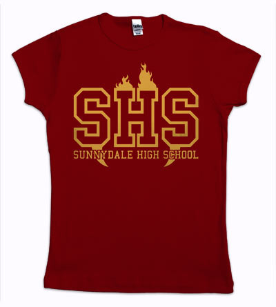 My very own Sunnydale t-shirt!