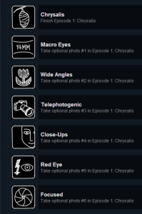 Steam Achievements Menu