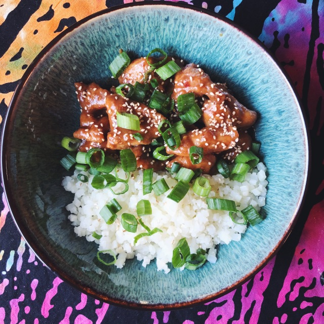 Recipe Sticky Sesame Chicken Keto Let S Get Galactic