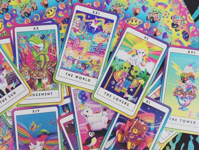 Lisa Frank Major Arcana Tarot Cards (DIY!)   Let's Get Galactic