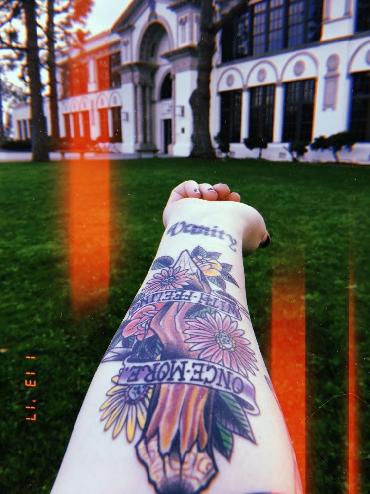 buffy tattoo and sunnydale high school