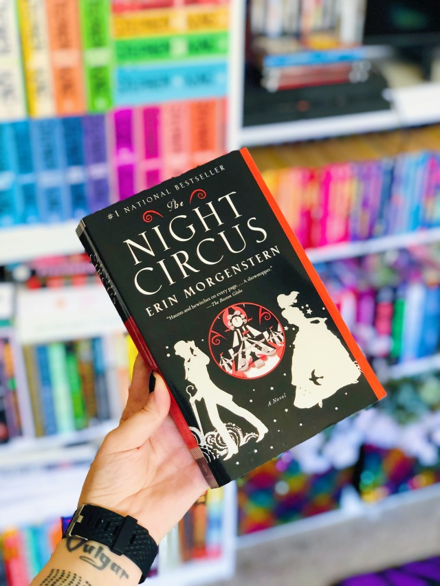 The Night Circus by Erin Morgenstern book review and cover