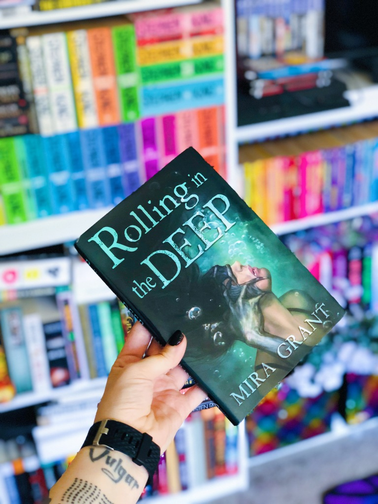 Rolling in the Deep by Mira Grant book review and cover