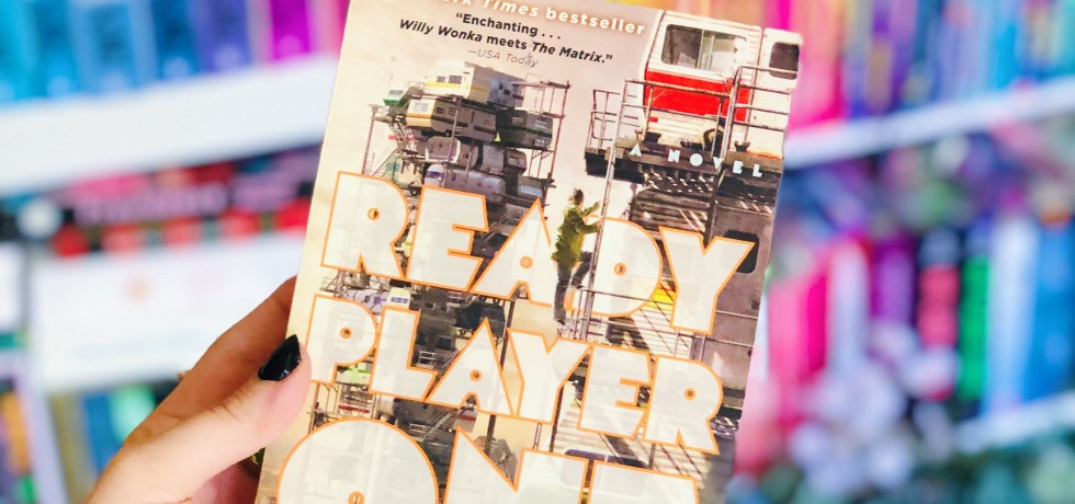 Ready Player One by Ernest Cline book review and cover