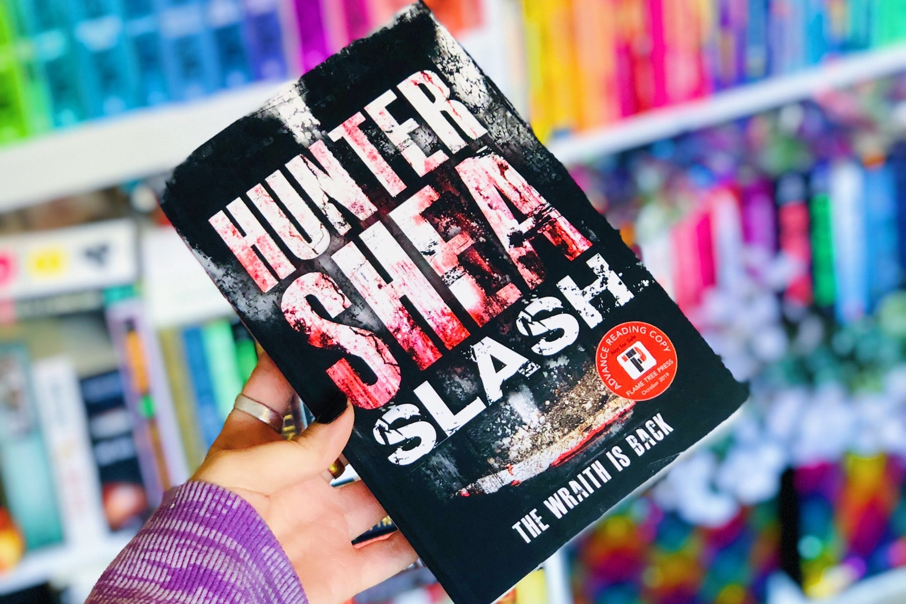Slash by Hunter Shea Book Review