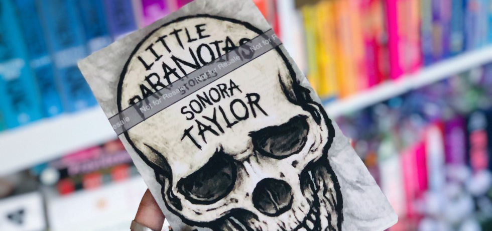 Book Cover and Review of Little Paranoias by Sonora Taylor
