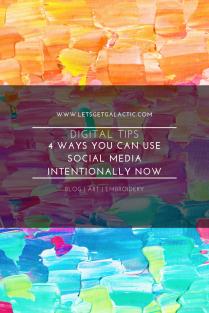 Social Media Intentionally