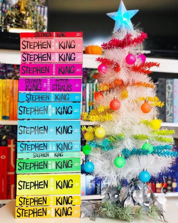 Mini Rainbow Christmas Tree