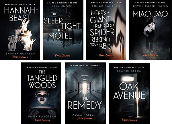 Amazon's Dark Corner Series Book Covers