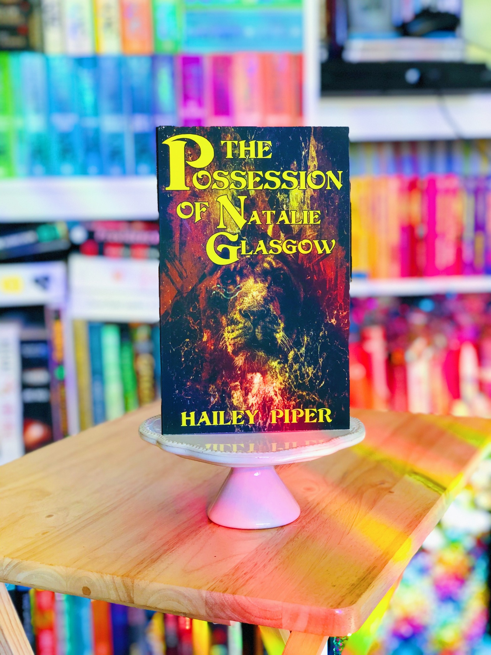 The Possession of Natalie Glasgow Book Cover
