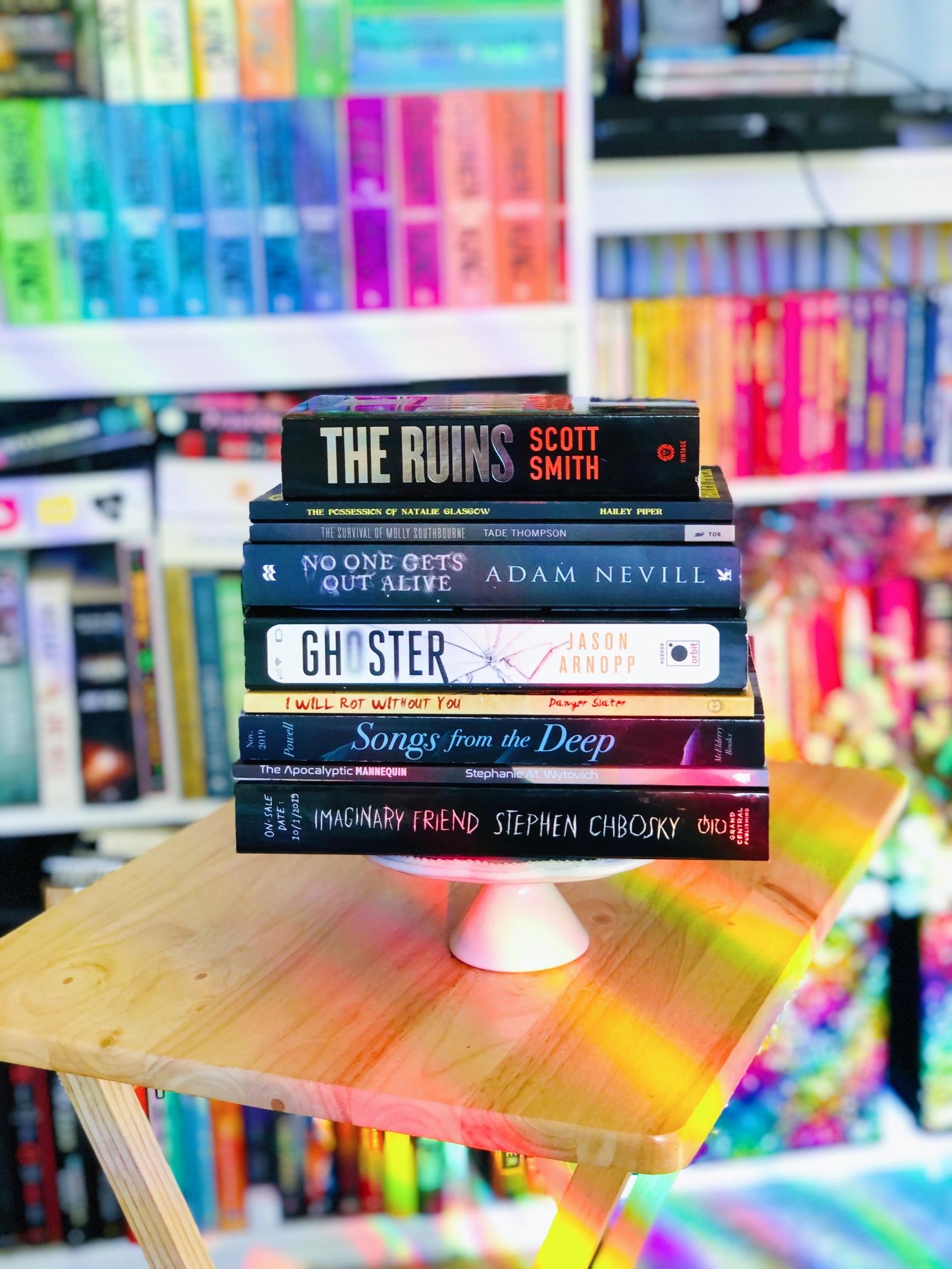 November TBR Stack of Books