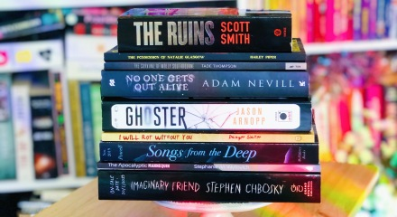 November TBR Stack of Books