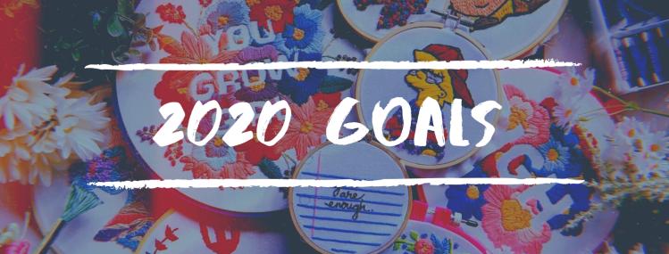 2020 Goals Blog Header