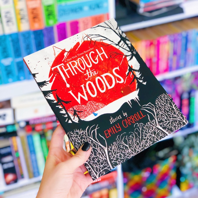 Through the Woods by Emily Carroll Book Cover & Book Review