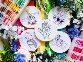 Spellcraft Embroidery Kit - Full Designs